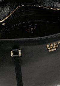 DKNY - WHITNEY - Shopper - black/gold-coloured - 4