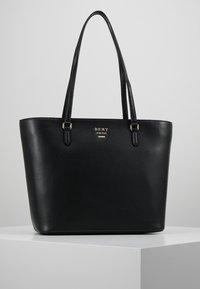 DKNY - WHITNEY - Shopper - black/gold-coloured - 0