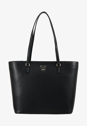 WHITNEY - Tote bag - black/gold-coloured