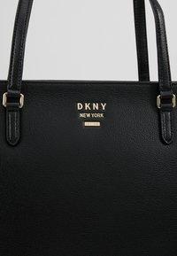 DKNY - WHITNEY - Shopper - black/gold-coloured - 6