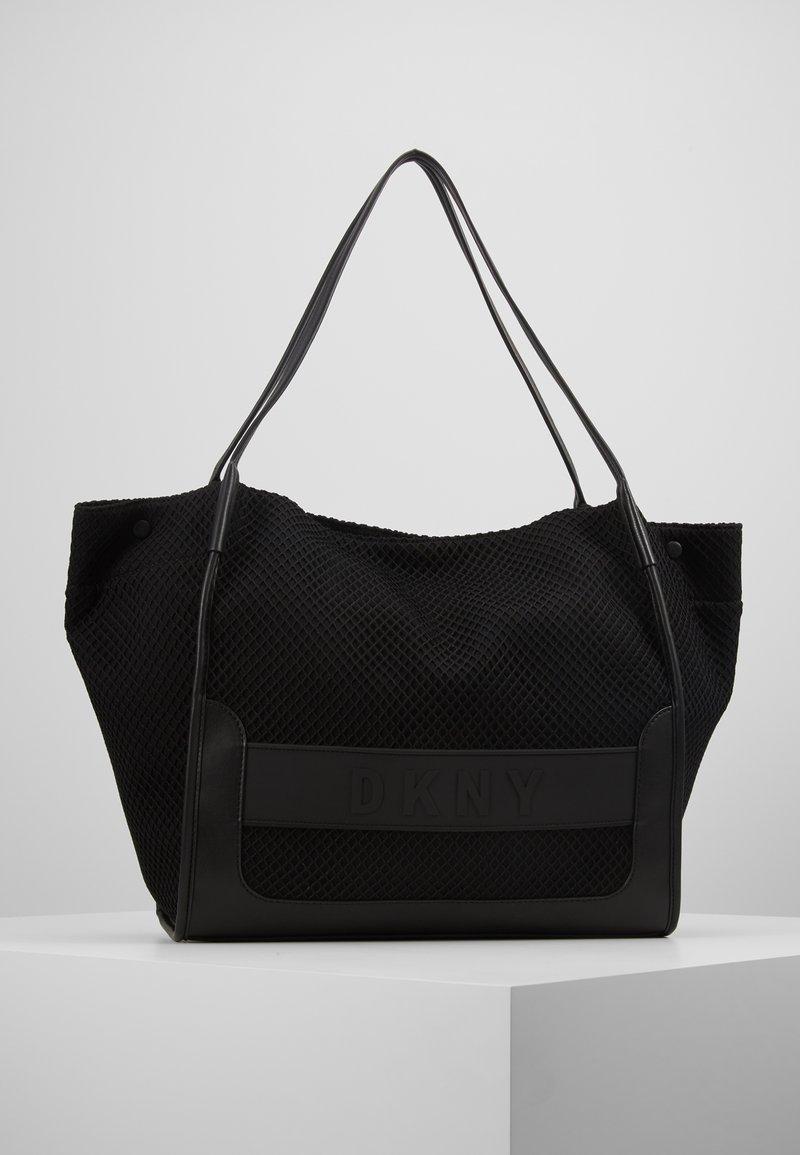DKNY - EBONY TOTE - Handtasche - black