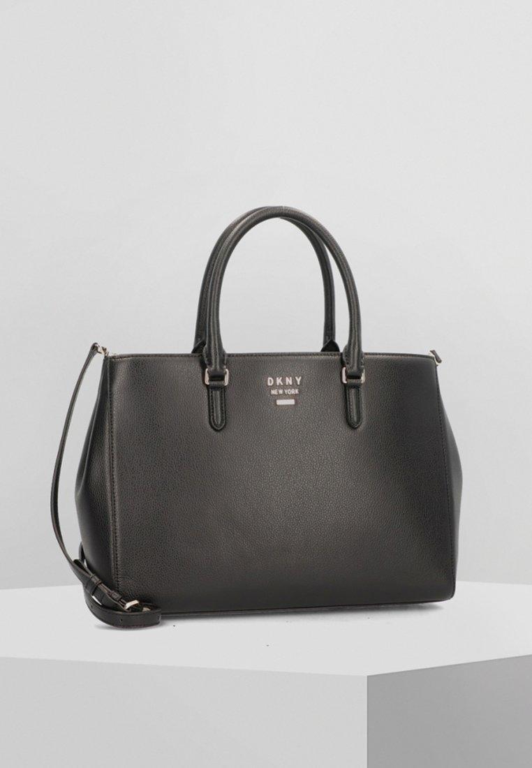 DKNY - WHITNEY - Handbag - black/gold