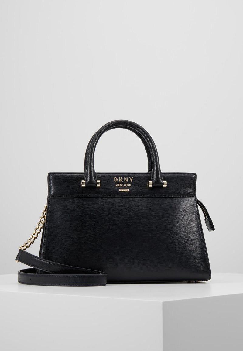 DKNY - AVA - Handtasche - black/gold