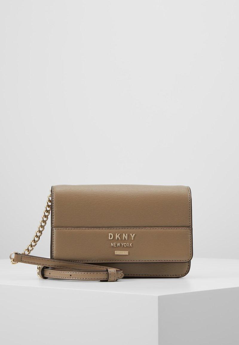 DKNY - AVA WALLET STRING - Across body bag - dune
