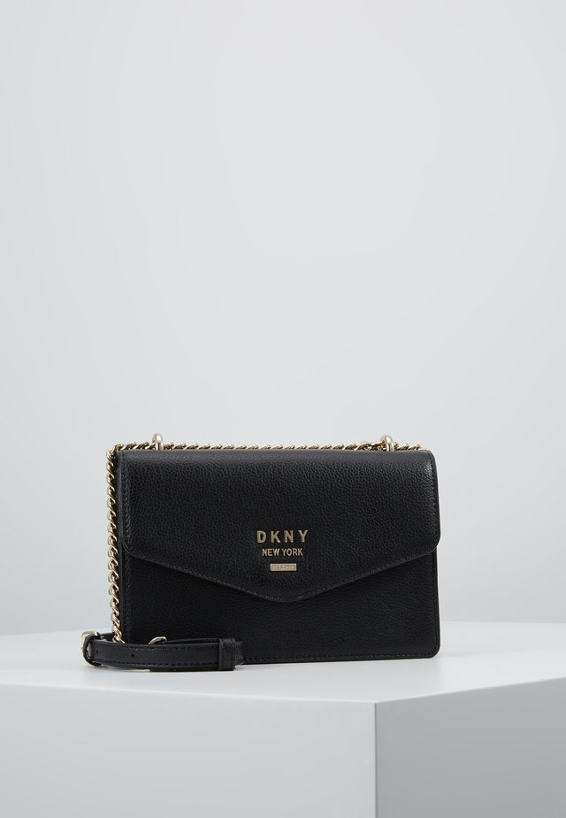 WHITNEY  - Across body bag - black/gold-coloured