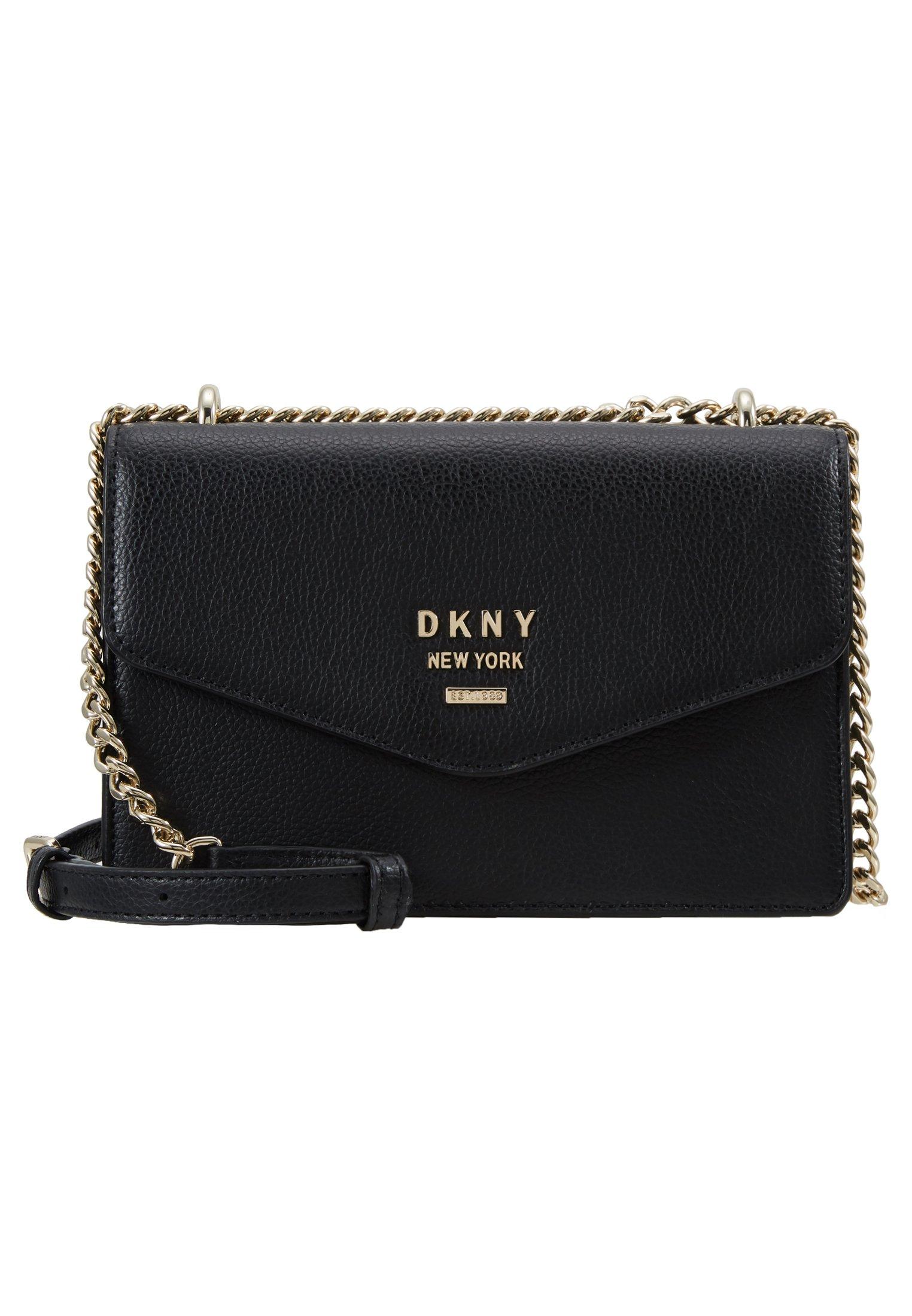 Dkny Whitney - Borsa A Tracolla Black/gold-coloured HvLoeSa