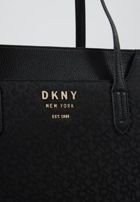 DKNY - NOHO EAST WEST TOTE LOGO - Handbag - black - 6