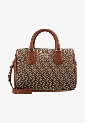 SATCHEL LOGO - Handbag - chino/caramel