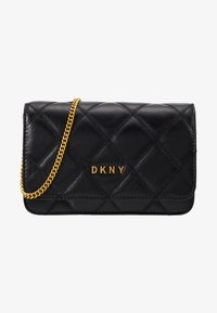 DKNY - SOFIA ON A STRING - Across body bag - black/gold - 5
