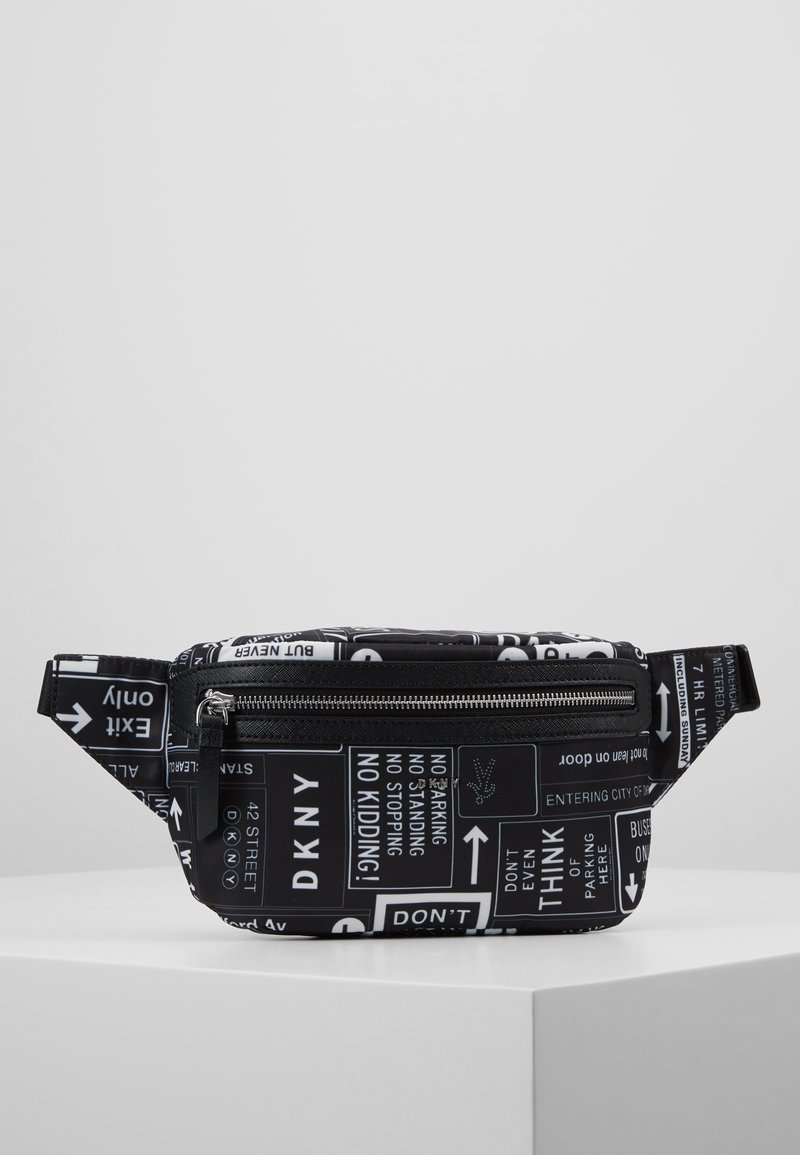 DKNY - CASEY - Ledvinka - black/white