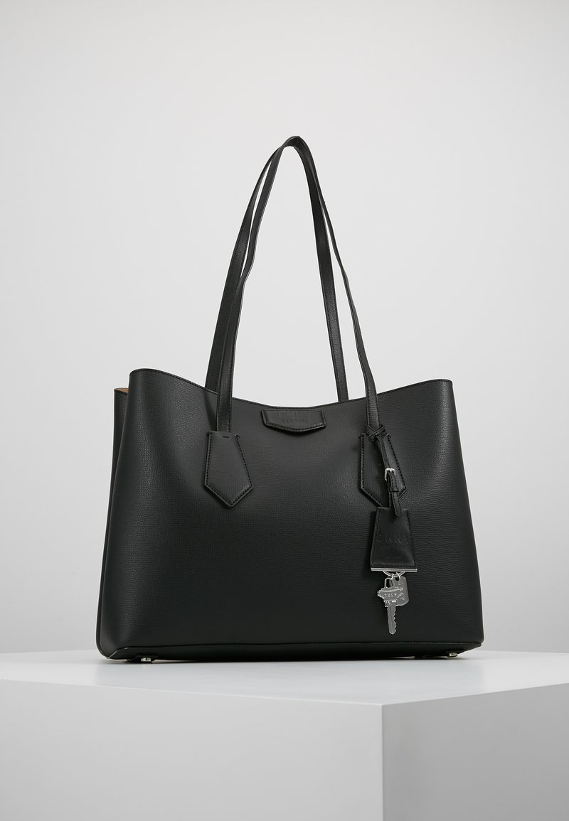 DKNY - SULLIVAN TOTE - Handbag - black/silver