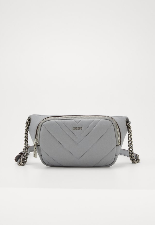 VIVIAN BELT BAG - Saszetka nerka - grey melange