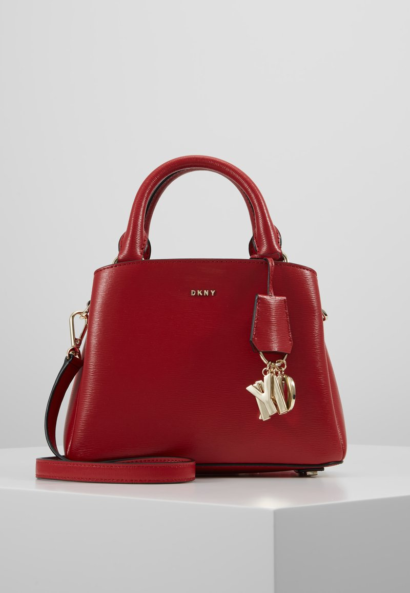DKNY - SATCHEL - Torebka - bright red