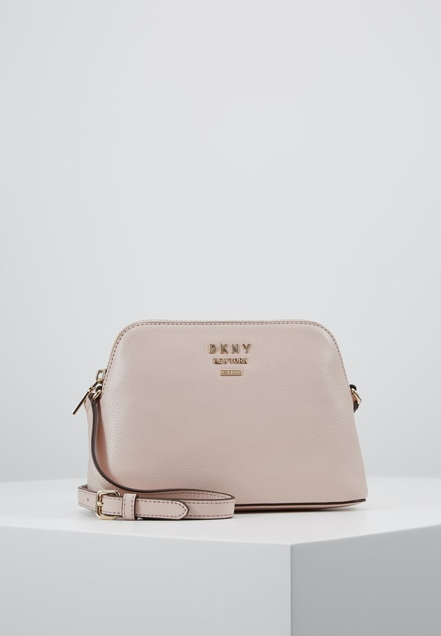 WHITNEY DOME CROSSBODY - Across body bag - cashmere