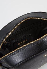 DKNY - SUTTON DOME XBODY - Across body bag - black - 4