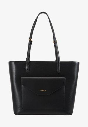 ALEXA TOTE SUTTON - Tote bag - black/gold
