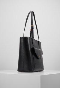 DKNY - ALEXA TOTE SUTTON - Tote bag - black/gold - 3