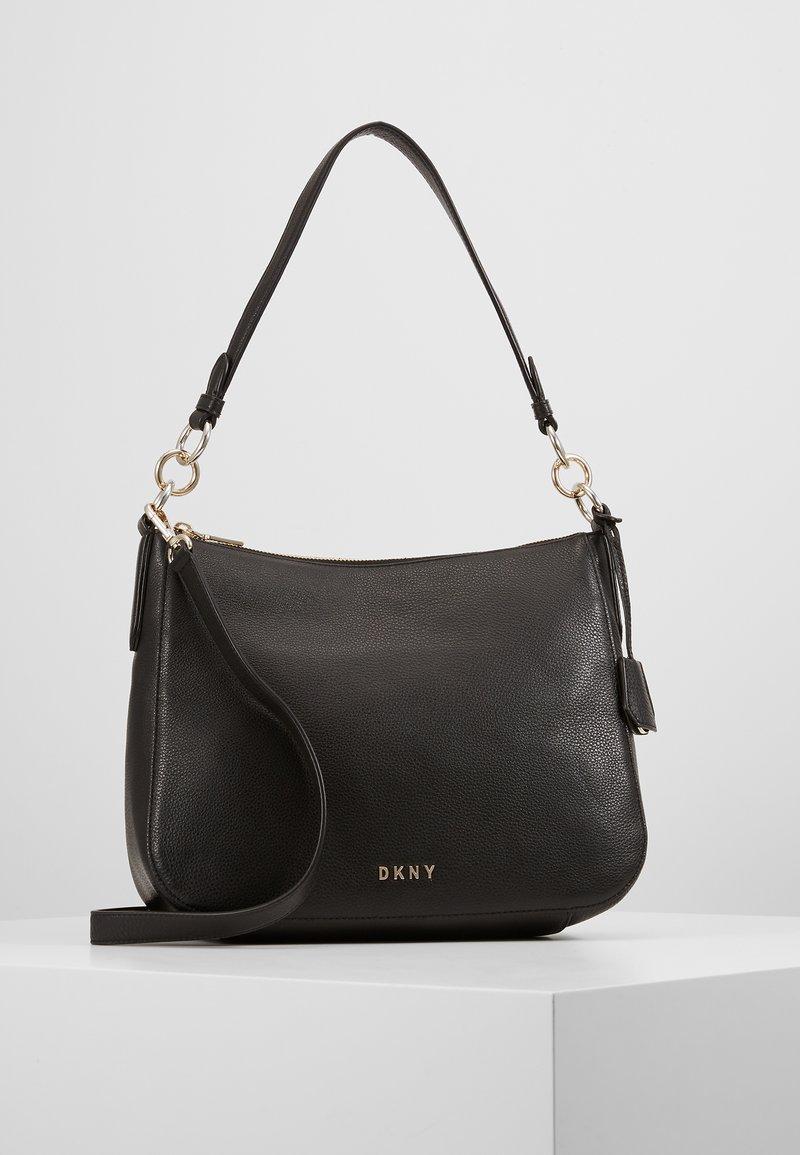 DKNY - DAYSIE  - Handtasche - black/gold-coloured