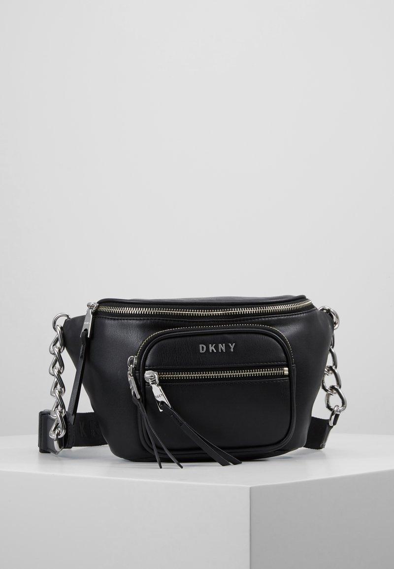 DKNY - ABBY  - Bum bag - black/silver