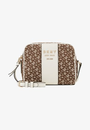 NOHO CAMERA BAG - Across body bag - chino/white