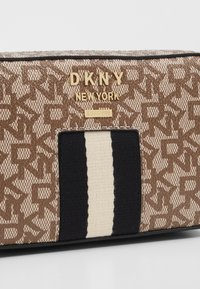 DKNY - LIZA - Camera bag - chino/black