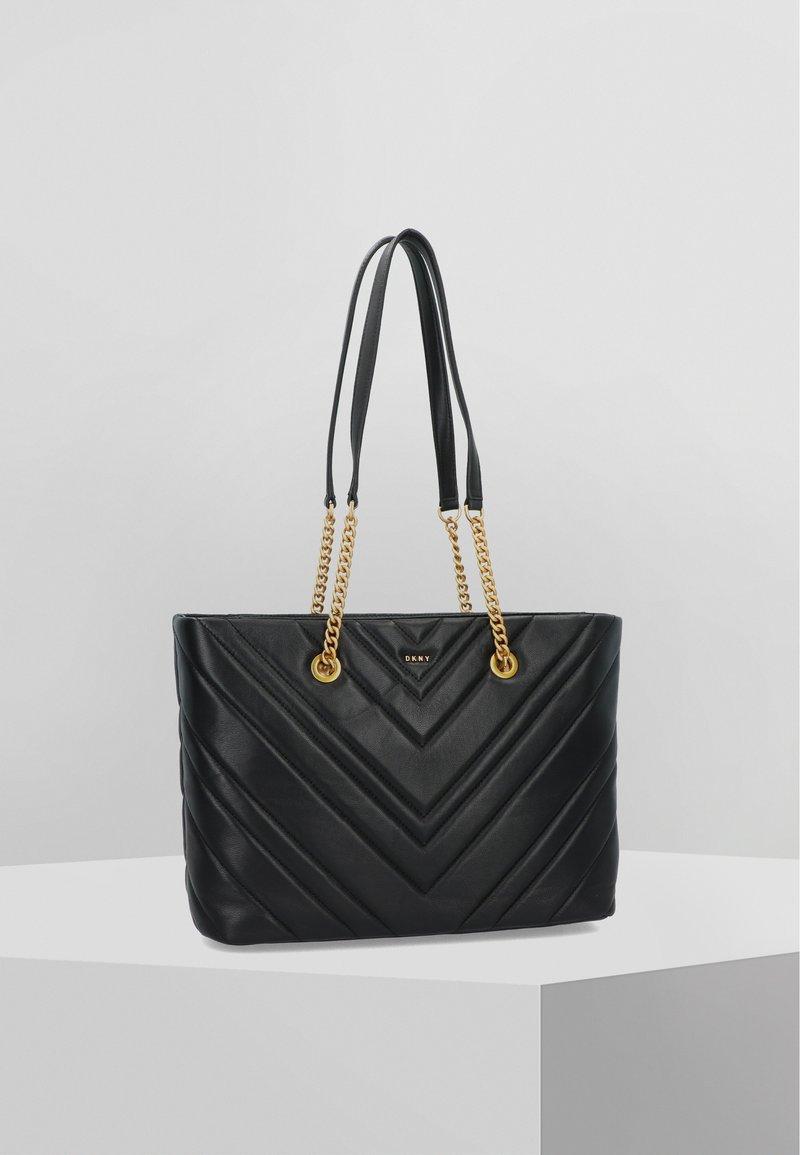 DKNY - VIVIAN  - Handbag - black/gold
