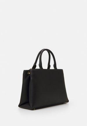 DAYNA SATCHEL - Handbag - black/gold