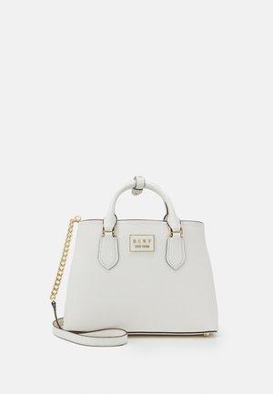 BIANCA SATCHEL  - Handbag - white/gold