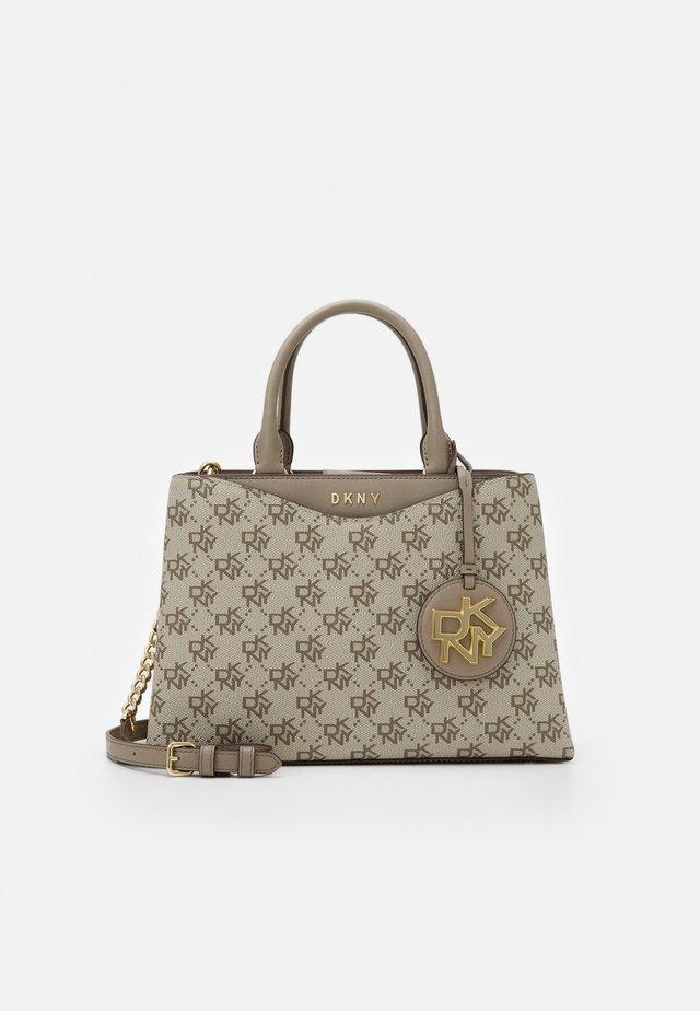 DAYNA MED SATCHEL LOGO - Handbag - khaki/soft clay
