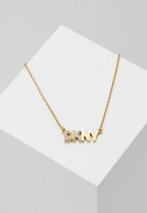 PAVE LOGO PENDANT  - Necklace - gold-coloured