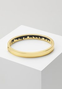 DKNY - ENAMEL SKYLINE HINGE BANGLE  - Bracelet - crystal / gold-coloured - 2