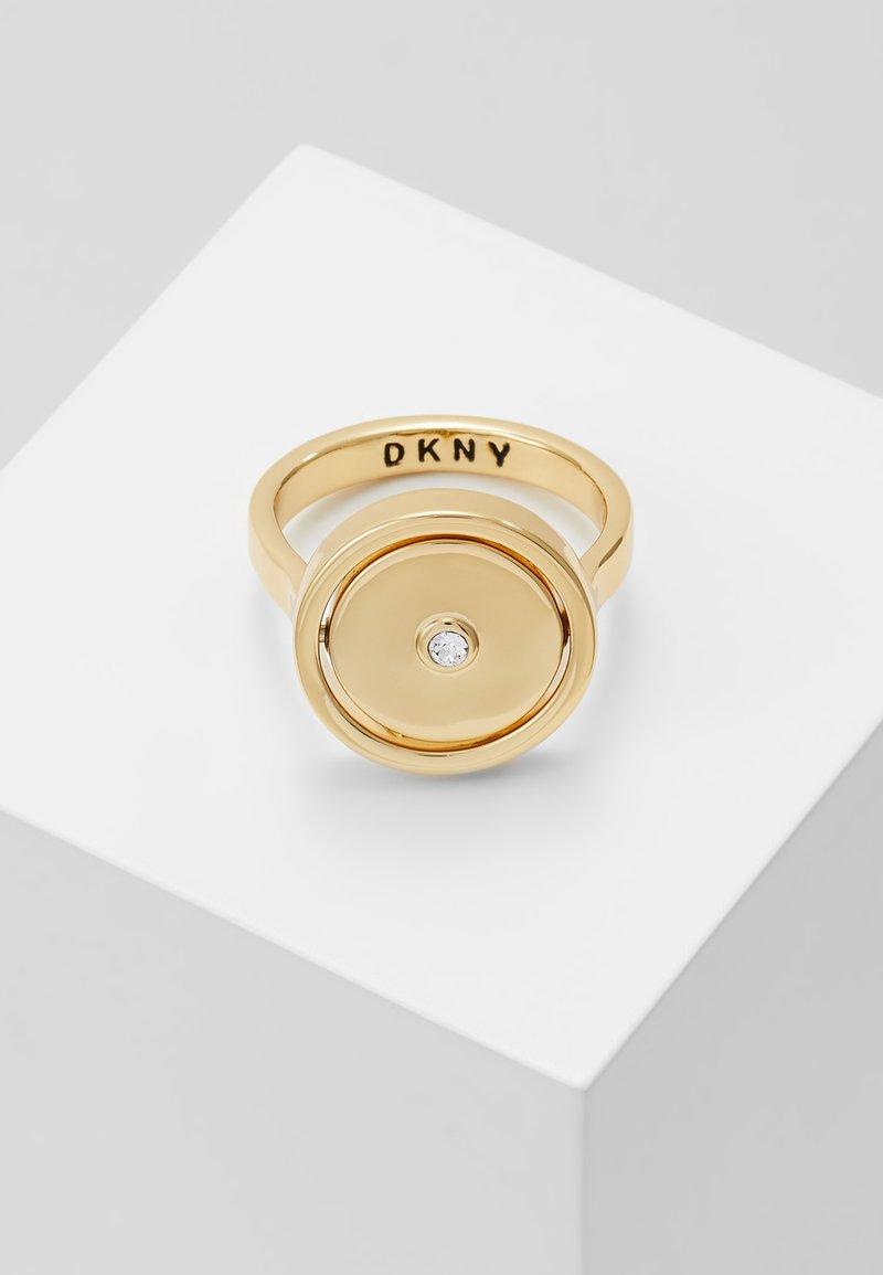 DKNY - SPINNER LOGO TOKEN - Ring - gold-coloured