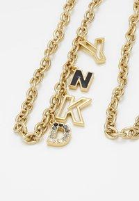 DKNY - CHARM - Náhrdelník - gold-coloured - 5