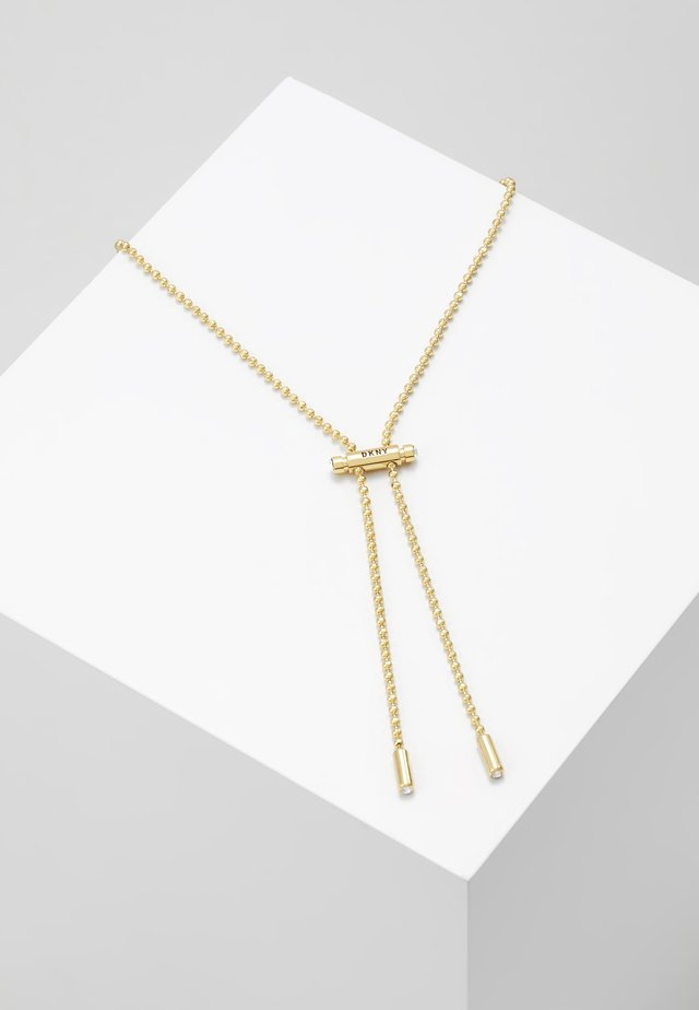 DRAWSTRING  - Necklace - gold-coloured