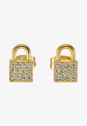 PADLOCK STUD - Náušnice - gold-coloured