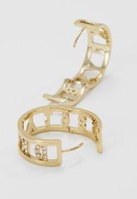 DKNY - 1989 HUGGIE HOOP  - Earrings - gold-coloured - 3