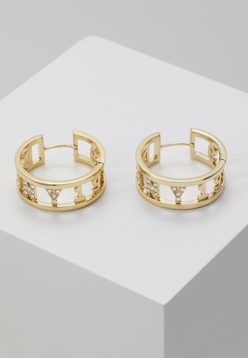 DKNY - 1989 HUGGIE HOOP  - Earrings - gold-coloured