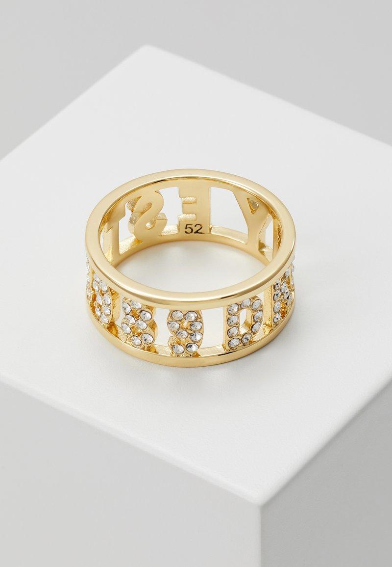 DKNY - DKNY 1989 BAND - Ring - gold-coloured