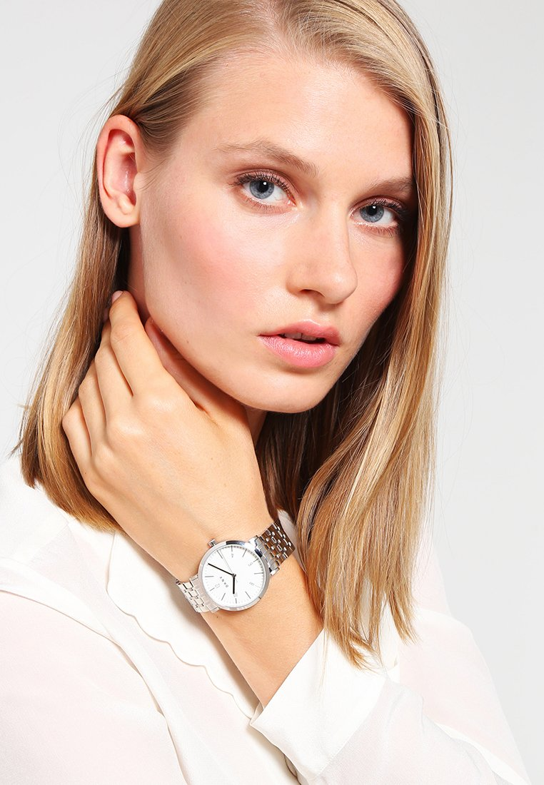 DKNY - DRESS CASE - Watch - silver-coloured