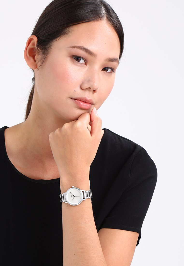 DKNY - THE MODERNIST - Uhr - silver-coloured