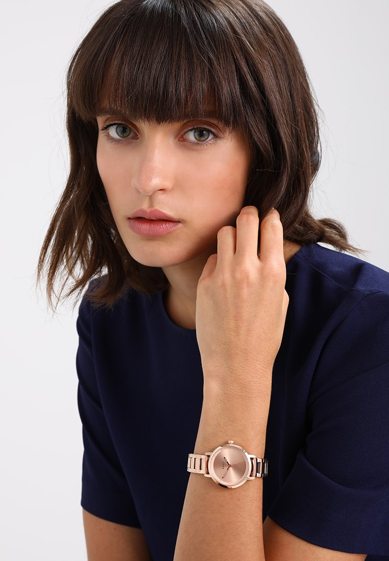 DKNY - THE MODERNIST - Hodinky - rose gold-coloured