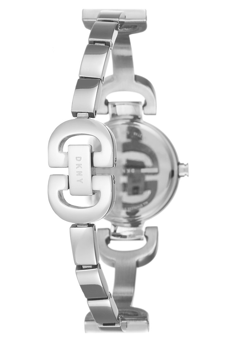 DKNY CITY LINK - Klokke - silver-coloured
