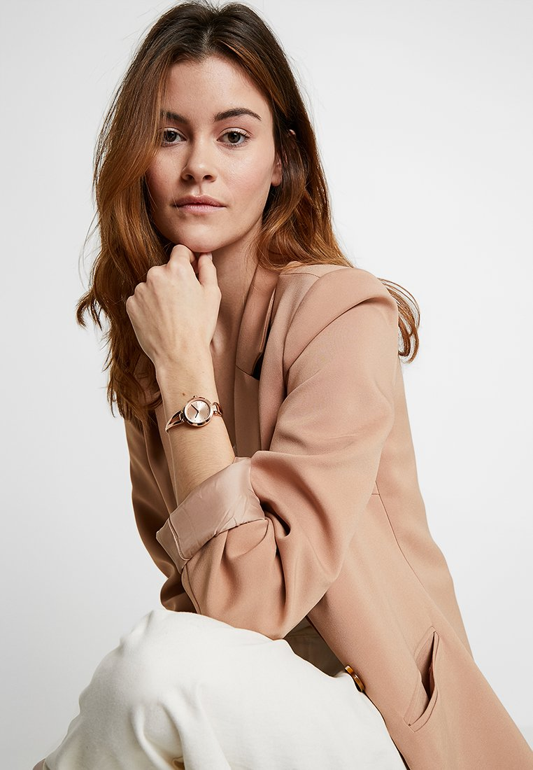 DKNY - CROSSWALK - Horloge - roségold-coloured