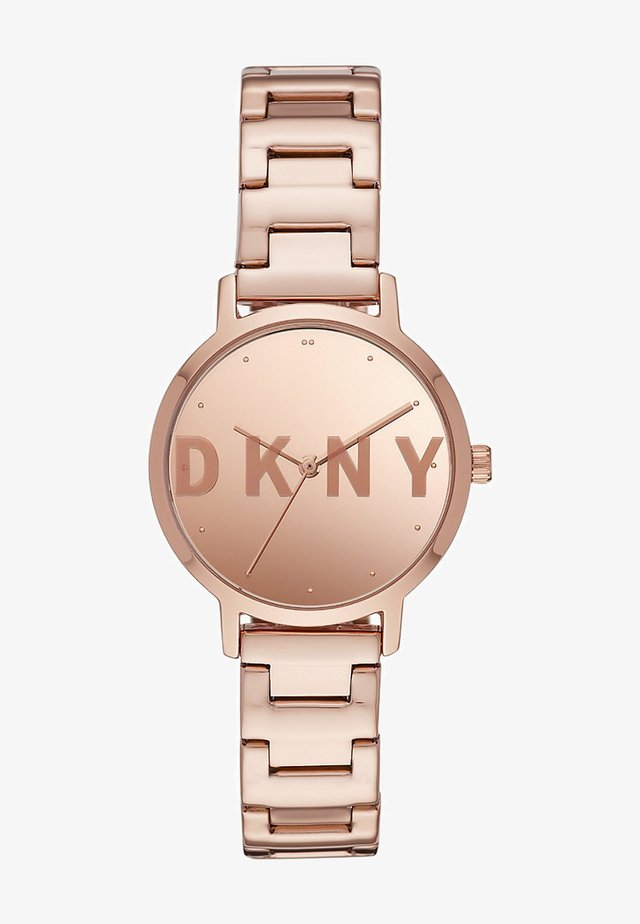 Watch - rose-gold coloured