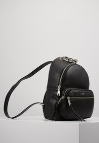 DKNY - ABBY BACKPACK  - Reppu - black/silver - 3