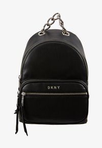 DKNY - ABBY BACKPACK  - Reppu - black/silver - 5