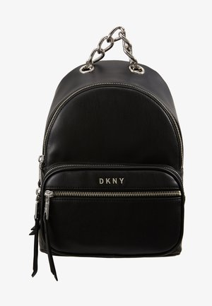 ABBY BACKPACK  - Reppu - black/silver