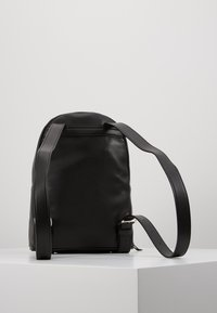 DKNY - ABBY BACKPACK  - Reppu - black/silver - 2