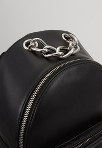 DKNY - ABBY BACKPACK  - Reppu - black/silver - 6
