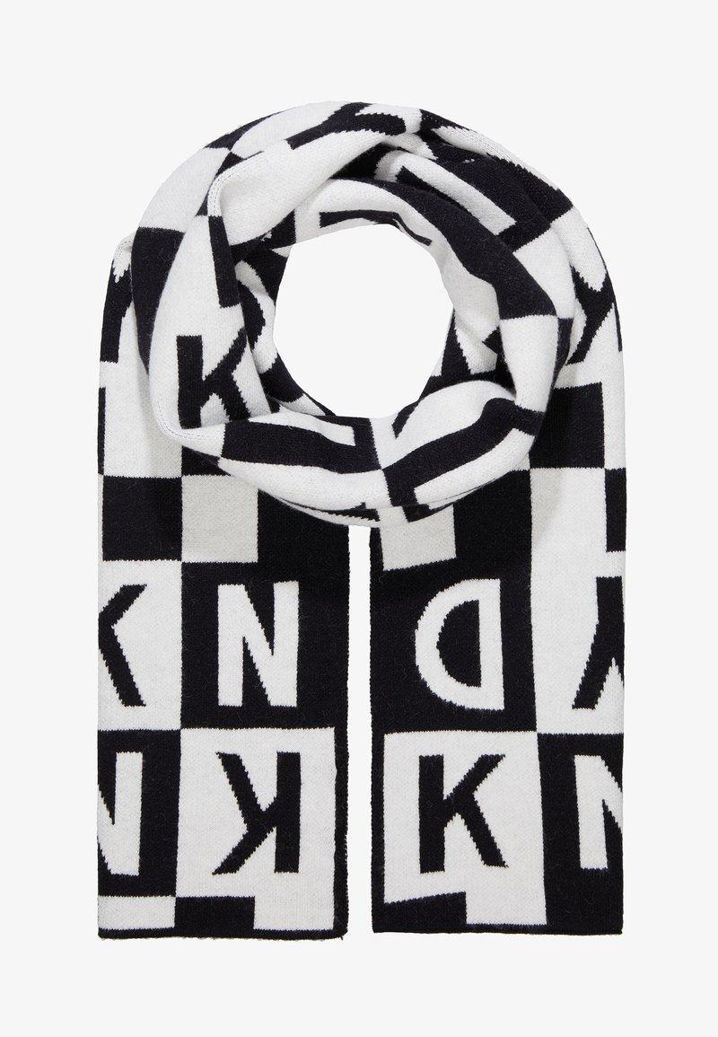 DKNY - Scarf - schwarz/weiss